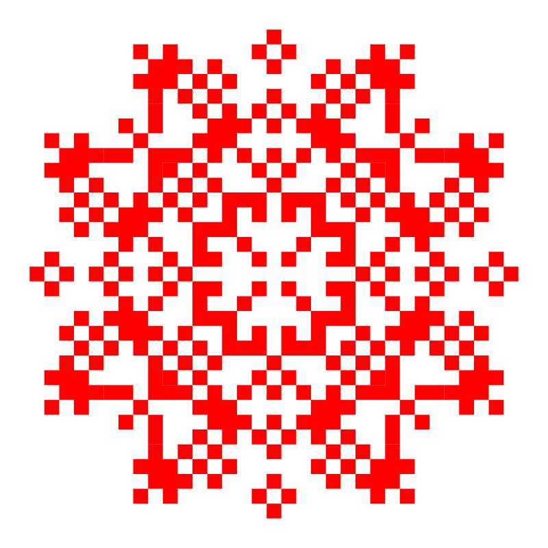 Текстовий слов'янський орнамент: Белобог