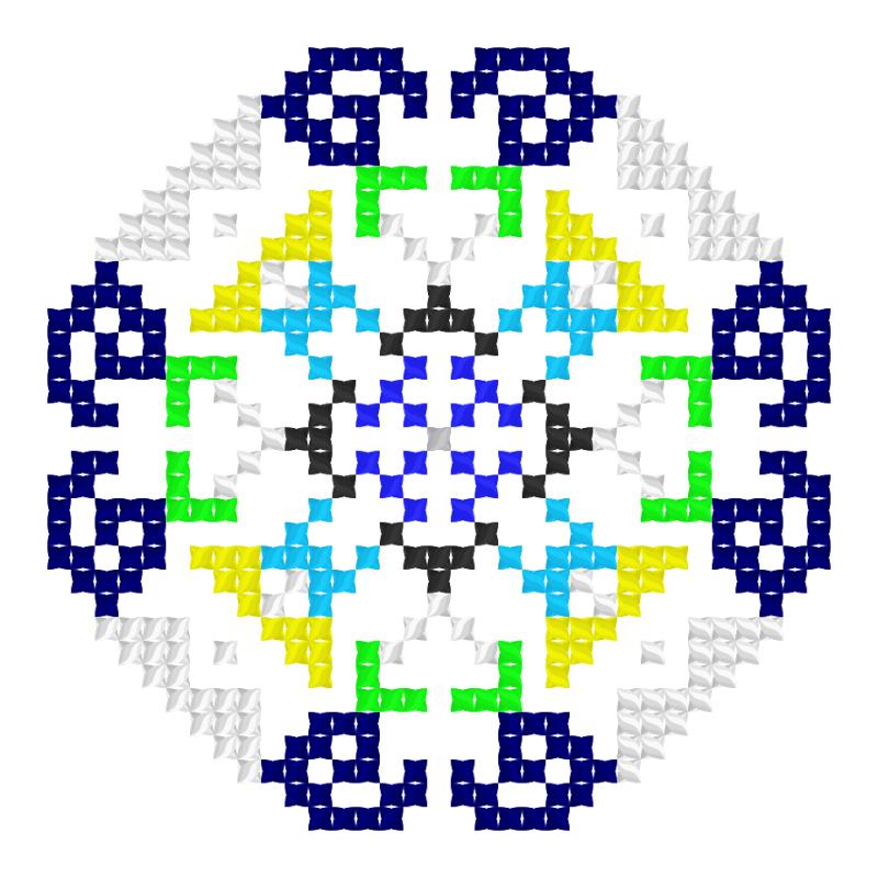 Текстовий слов'янський орнамент: Тамила