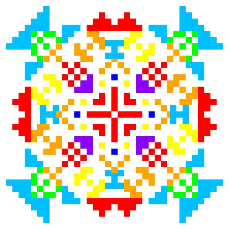 Текстовий слов'янський орнамент: валентина2