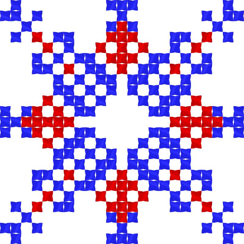 Текстовий слов'янський орнамент: Фенiкс