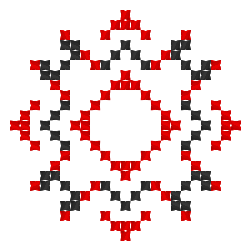 Текстовий слов'янський орнамент: Алiса