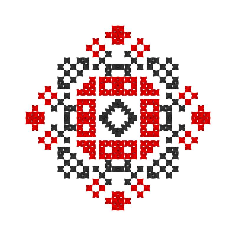 Текстовий слов'янський орнамент: Локатор