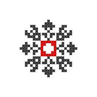 Текстовый украинский орнамент: Альона