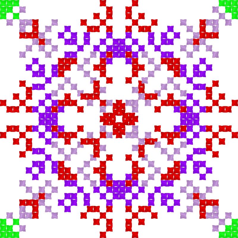 Текстовий слов'янський орнамент: Клаудия