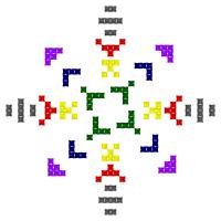Текстовый украинский орнамент: Вакула