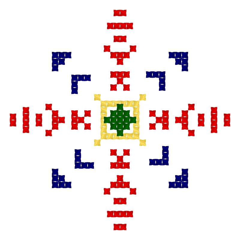 Текстовий слов'янський орнамент: Вакула 2