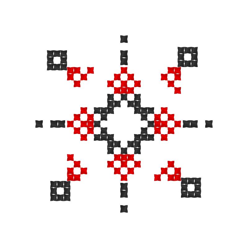 Текстовий слов'янський орнамент: Дмітро
