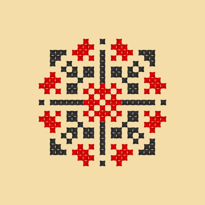 Текстовий слов'янський орнамент: Ядвіга