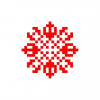 Текстовый украинский орнамент: Титан