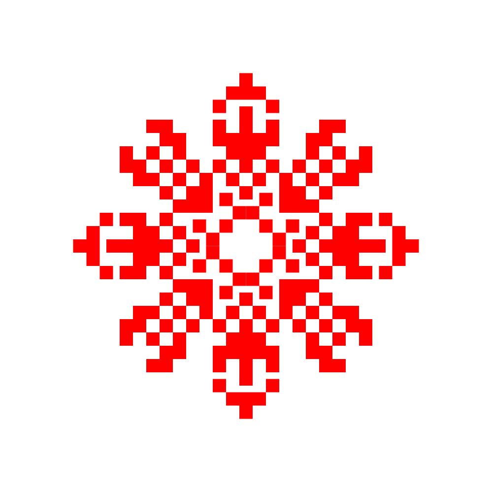 Текстовий слов'янський орнамент: Платина
