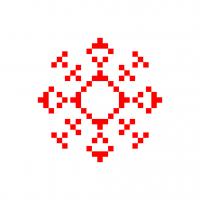 Текстовый украинский орнамент: Астат