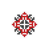 Текстовый украинский орнамент: Алена
