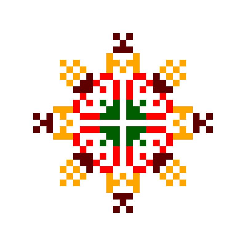 Текстовий слов'янський орнамент: Яремка