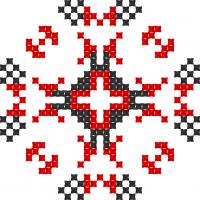 Текстовый украинский орнамент: Папа Мен (Youtube Chanel Papa Man)