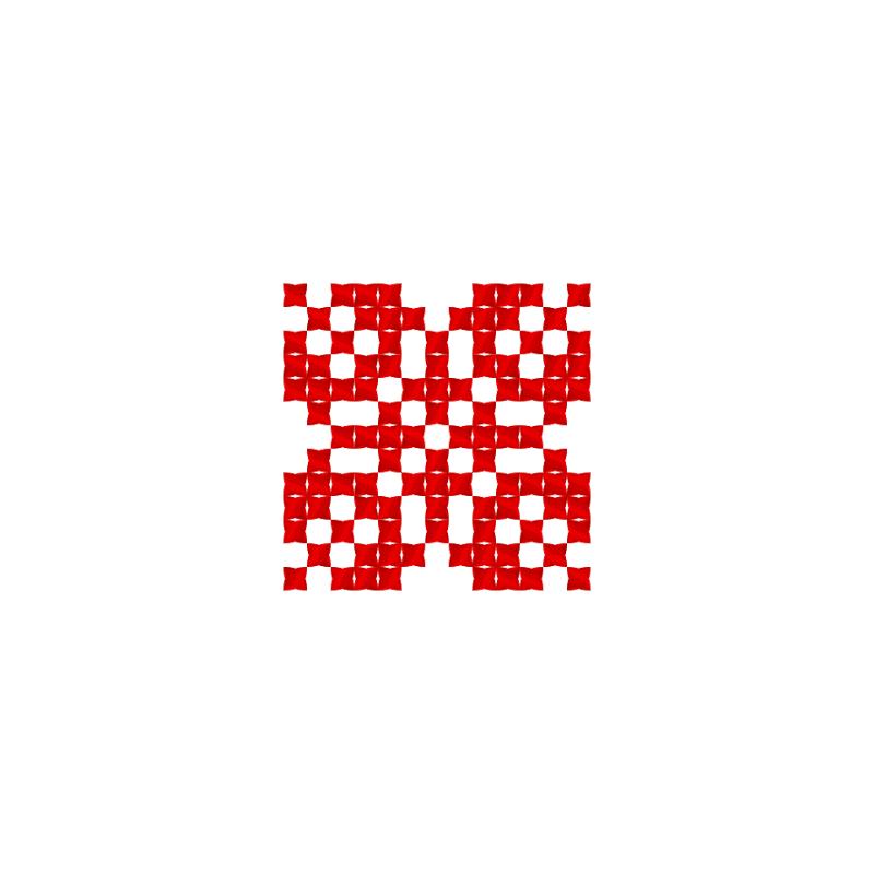 Текстовий слов'янський орнамент: сім'я