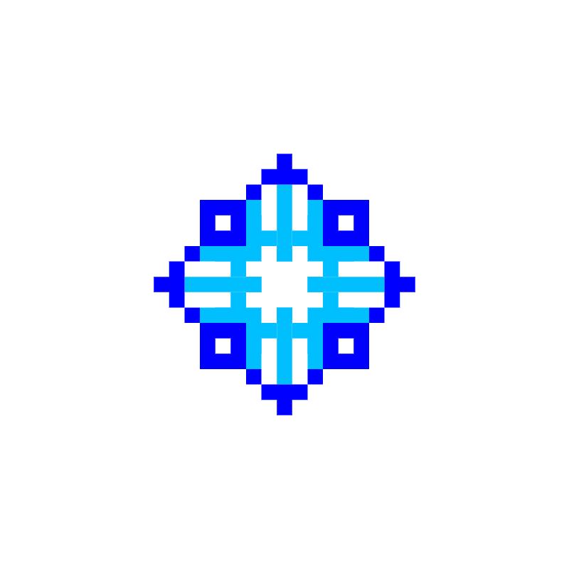 Текстовий слов'янський орнамент: Мова синя