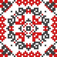 Текстовый украинский орнамент: візерунок3
