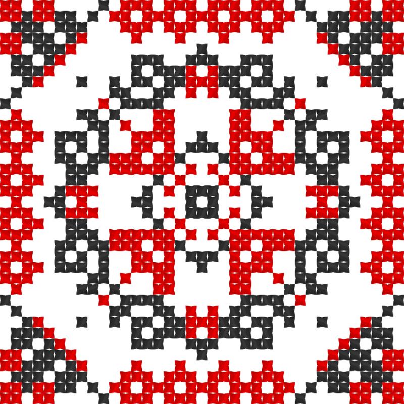 Текстовий слов'янський орнамент: візерунок3