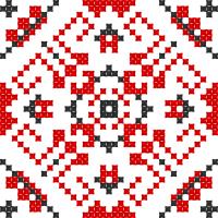 Текстовый украинский орнамент: орнамент2