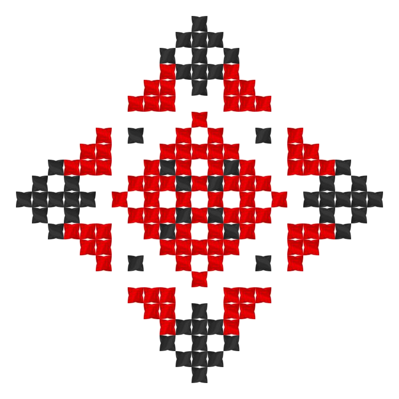 Текстовий слов'янський орнамент: фiфа