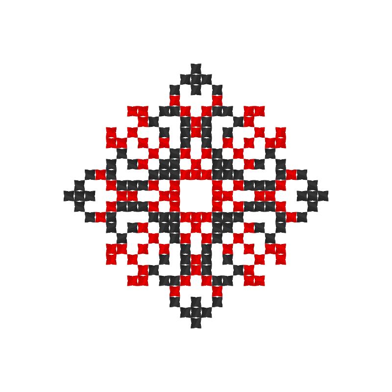 Текстовий слов'янський орнамент: Кутруся