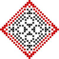 Текстовый украинский орнамент: Алекс
