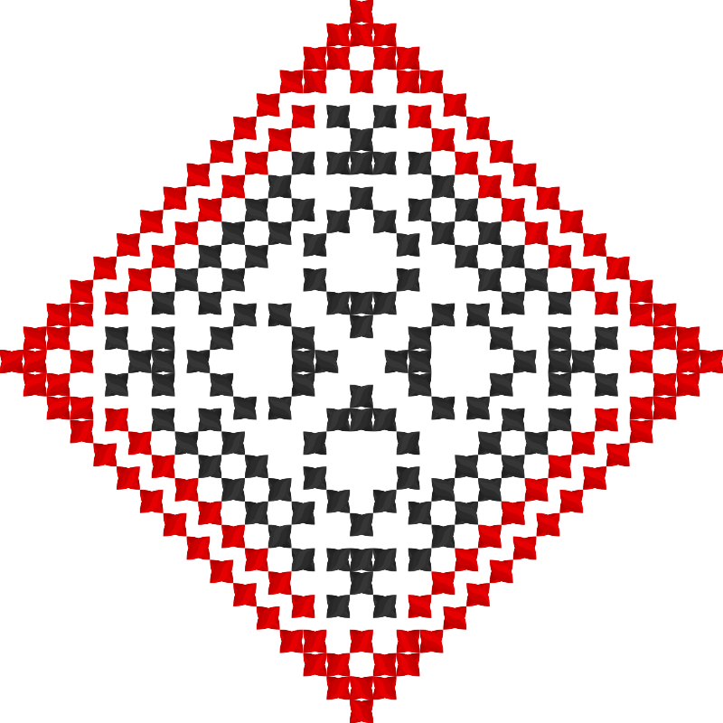 Текстовий слов'янський орнамент: Алекс
