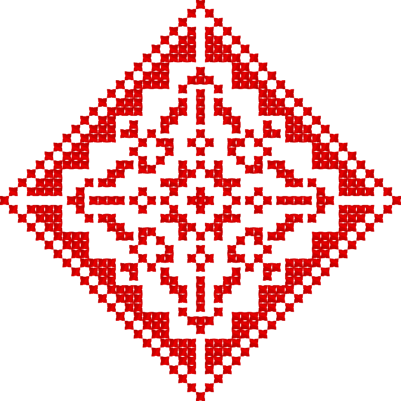 Текстовий слов'янський орнамент: Москва