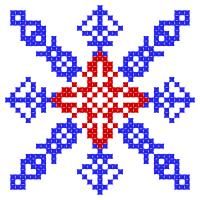 Текстовый украинский орнамент: Кубань - Краснодар