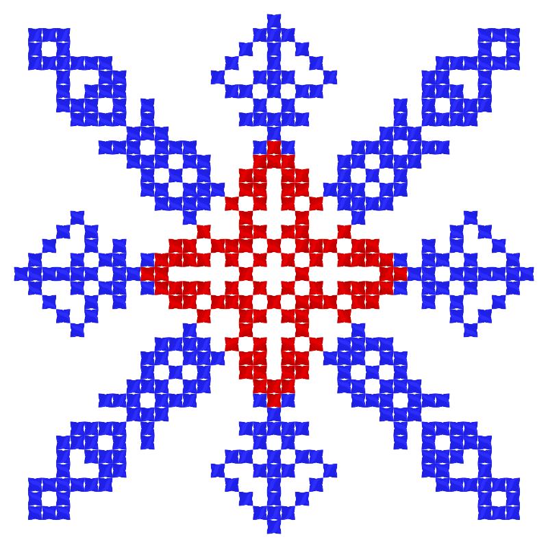 Текстовий слов'янський орнамент: Кубань - Краснодар