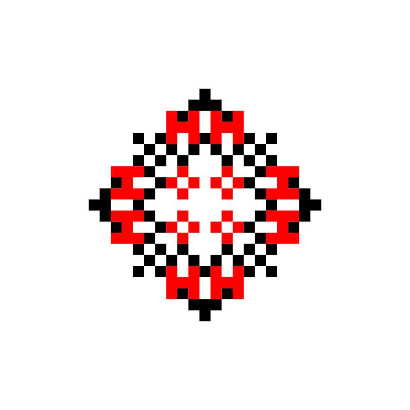 Текстовий слов'янський орнамент: Oлена
