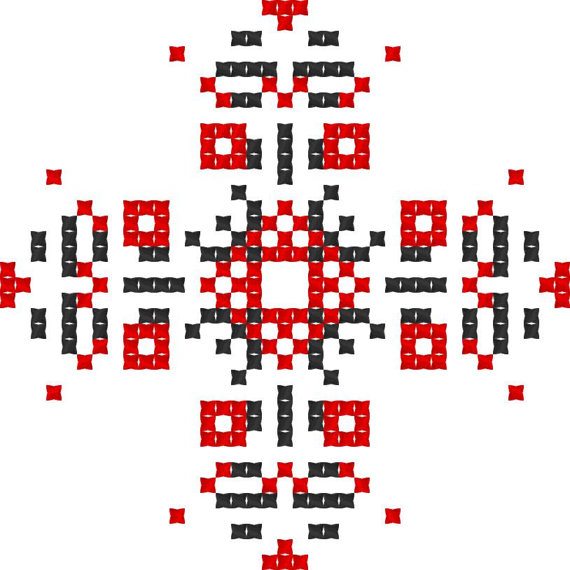 Текстовий слов'янський орнамент: Диво світ