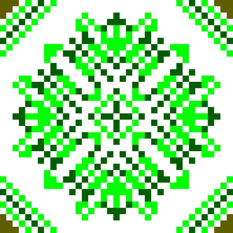Текстовий слов'янський орнамент: Рижанівка