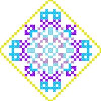 Текстовый украинский орнамент: стрiлець