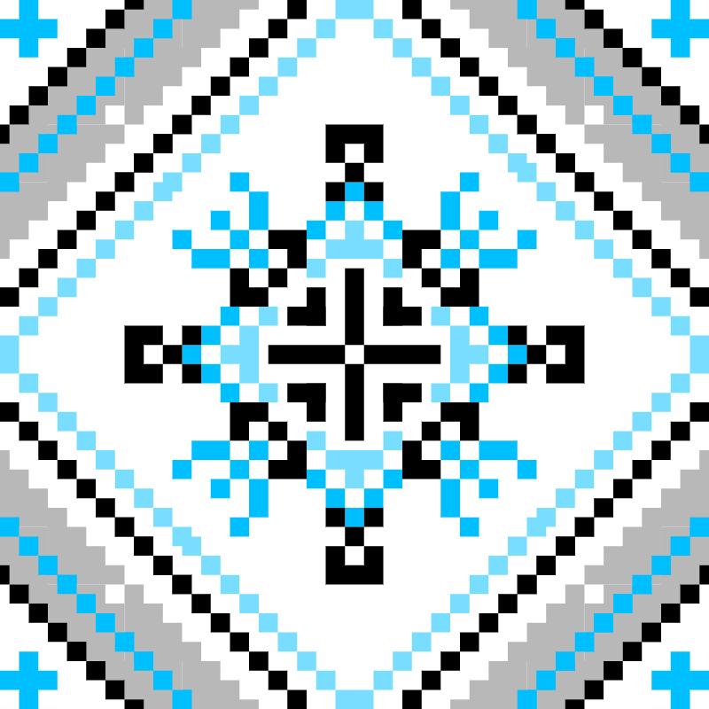 Текстовий слов'янський орнамент: василь