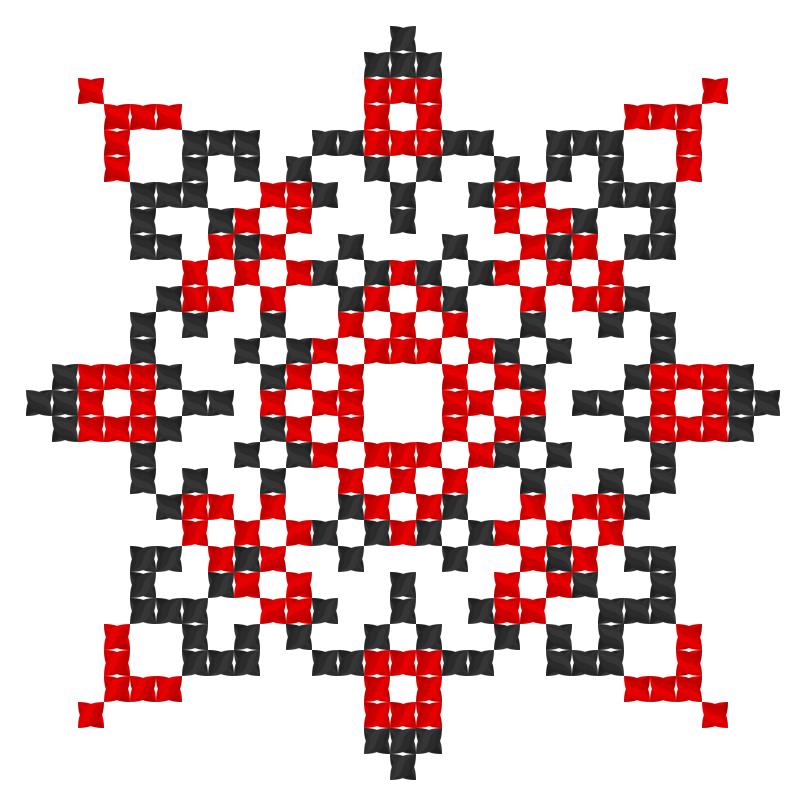 Текстовий слов'янський орнамент: добробут