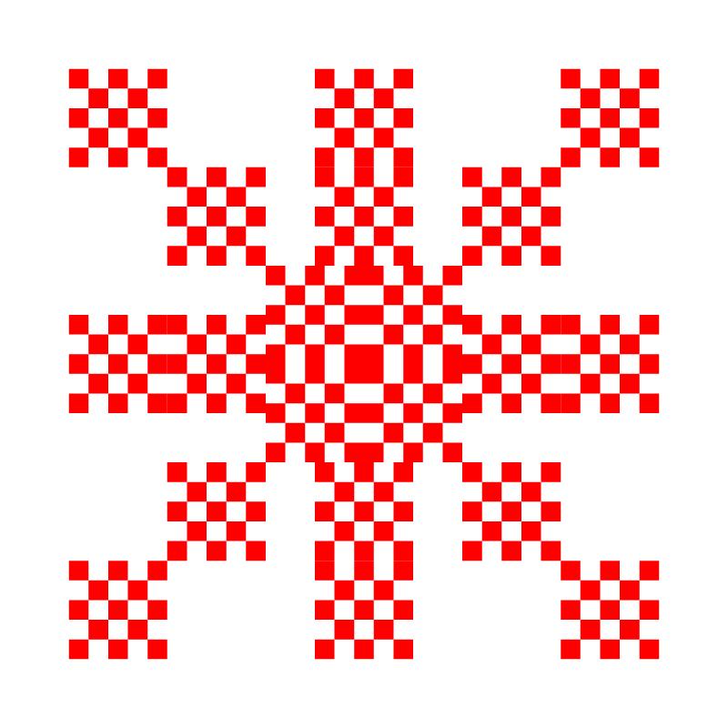 Текстовий слов'янський орнамент: обожаю лол