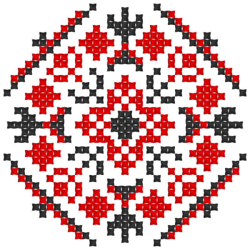 Текстовий слов'янський орнамент: Михайлик