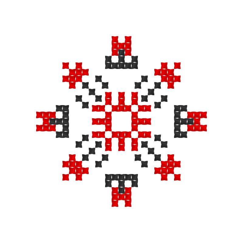 Текстовий слов'янський орнамент: Євген