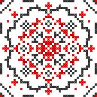 Текстовый украинский орнамент: Козак Мамай (3)