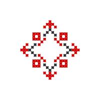 Текстовый украинский орнамент: Юля