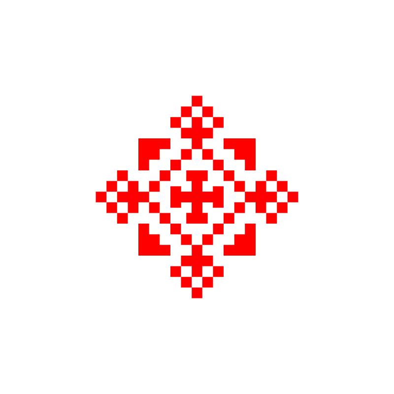 Текстовий слов'янський орнамент: 11111