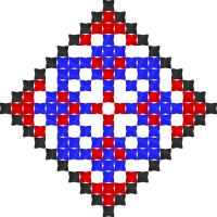 Текстовый украинский орнамент: Пасха