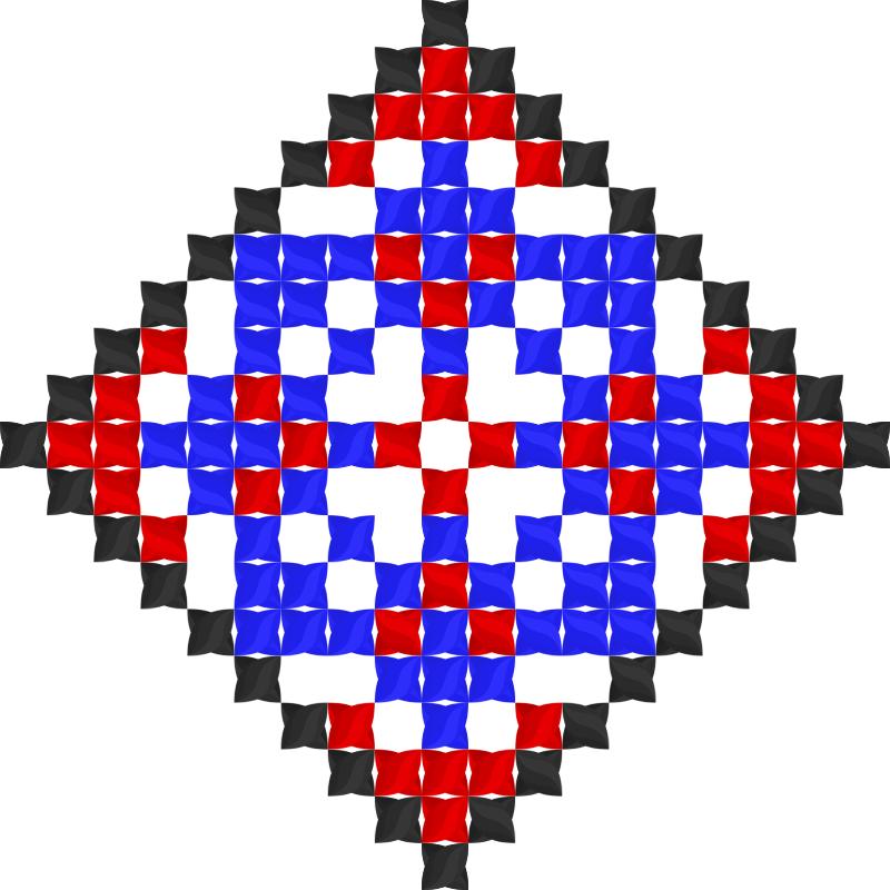 Текстовий слов'янський орнамент: Пасха