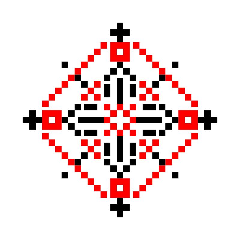 Текстовий слов'янський орнамент: звук