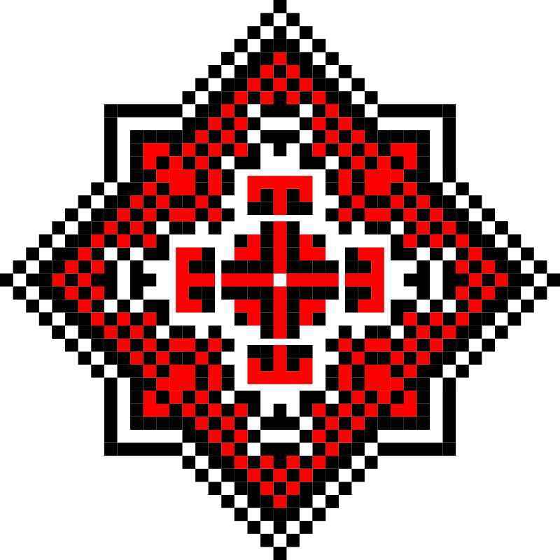 Текстовий слов'янський орнамент: Дарт Вейдер