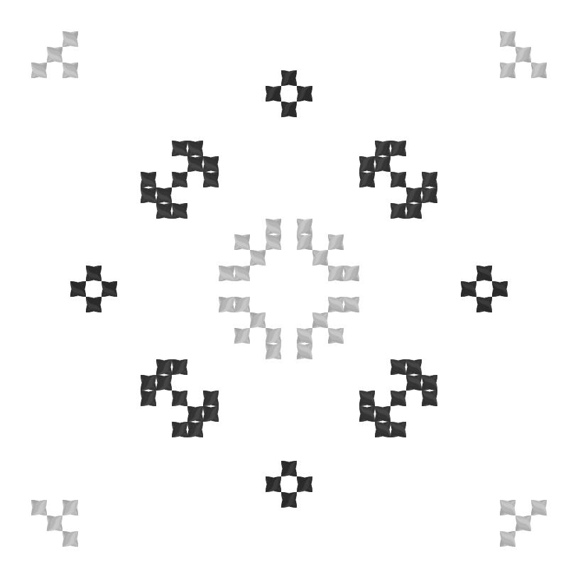 Текстовий слов'янський орнамент: енот