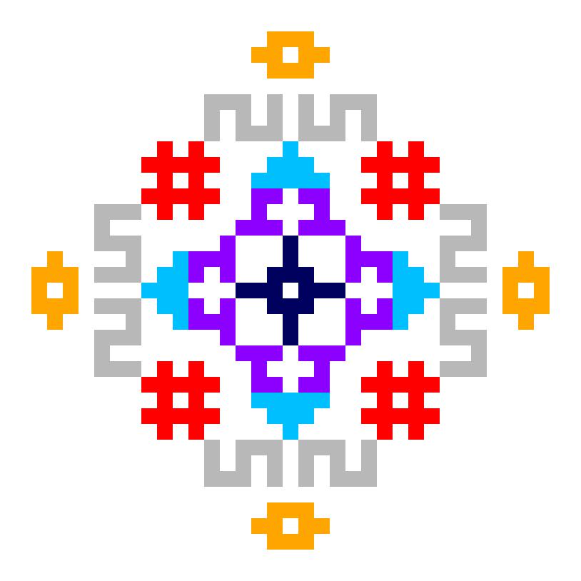 Текстовий слов'янський орнамент: 123456