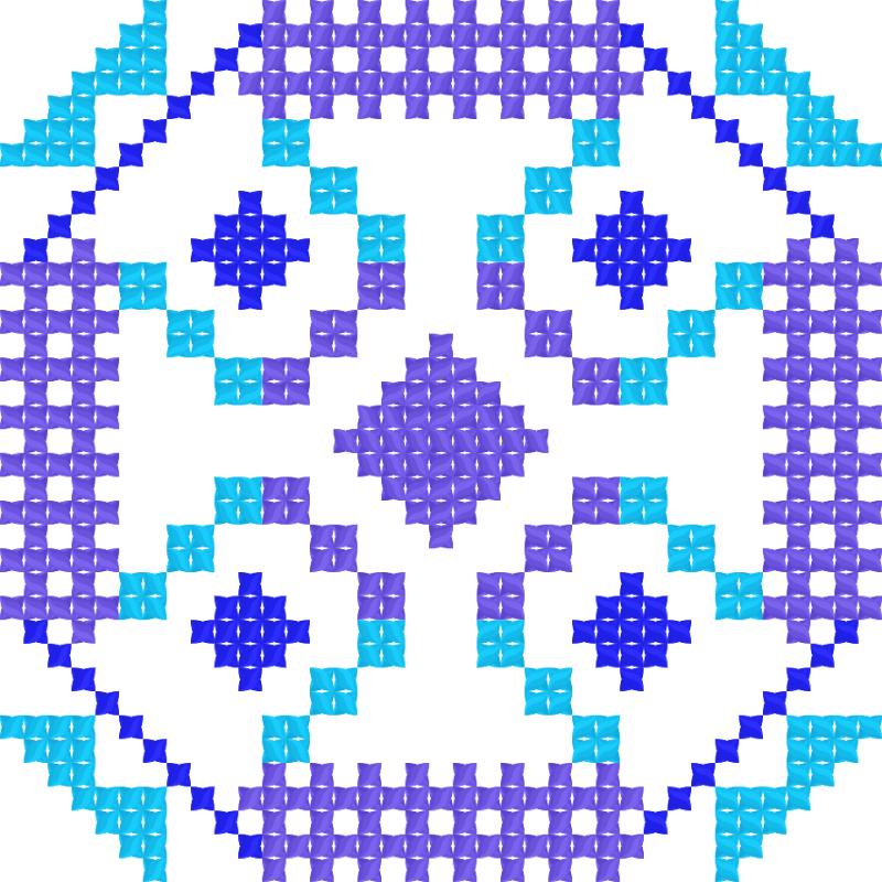 Текстовий слов'янський орнамент: Den