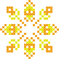Текстовый украинский орнамент: Вчитель